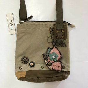 NWT Chala Handbag with Butterfly Crossbody